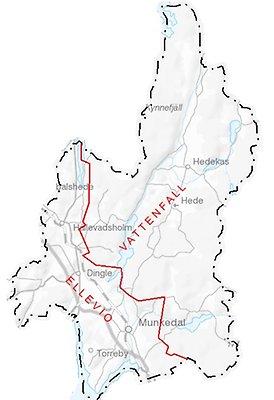 elnätsägare karta Elnät   Munkedals kommun elnätsägare karta